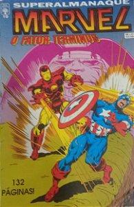 Superalmanaque Marvel #10 - Ed. Abril Fator Terminus
