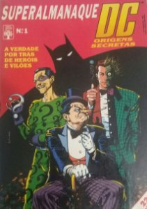 Superalmanaque DC #1 - Ed. Abril Origens Secretas