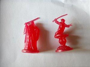 Miniaturas Star Wars Estilo holograma: Yoda e Palpatine