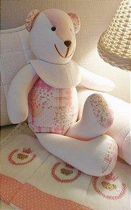 Ursinho de pano em patchwork