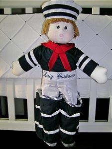 Boneco Marinheiro porta fraldas