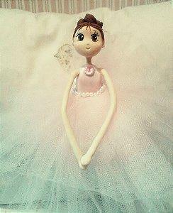 Boneca Bailarina em biscuit