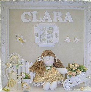 Quadros decorativos Trio bonecas