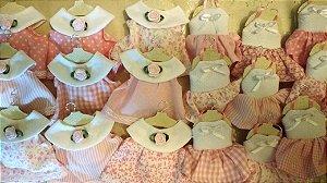 Lembranças Maternidade Sachê Mini Vestidos 03 dúzias