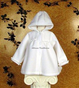 Pelerine em soft forrado em algodão