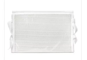 Trocador tricot branco sob medida