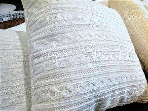 Kit berço com 05 peças tricot tranças