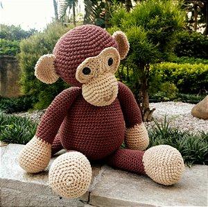 Macaquinho em crochet Amigurumi