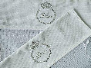 Saquinho para roupas maternidade