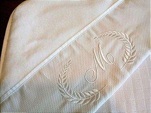 Toalha Capuz com toalha fralda