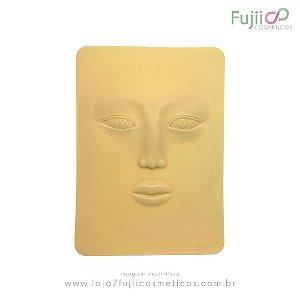 Placa de silicone - Rosto 3D