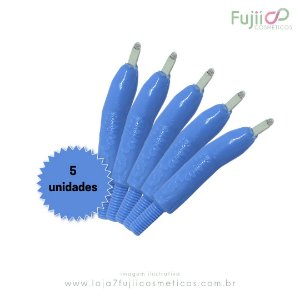 5 unidades - Lâmina Tebori GR Colors 12 Pontas Flex U