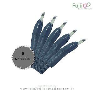 5 unidades - Lâmina Tebori GR Colors 14 Pontas Flex