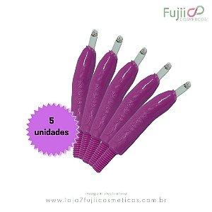 5 unidades - Lâmina Tebori GR Colors 14 Pontas Flex U
