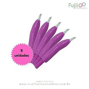 5 unidades - Lâmina Tebori GR Colors 9 Pontas Flex