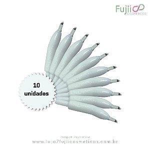 10 unidades - Lâmina Tebori GR Colors 12 Pontas Flex