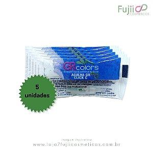 5 Unidades - Agulha GR CLICK-C 5 Pontas Linear