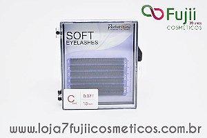 Cílios Fio a Fio Curvatura C - Soft 0.07 - 10mm
