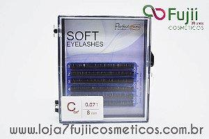 Cílios Fio a Fio Curvatura C - Soft 0.07 - 8mm