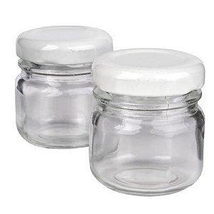 Potinho de Vidro 40 ml Liso para Brigadeiro (10 unid.)