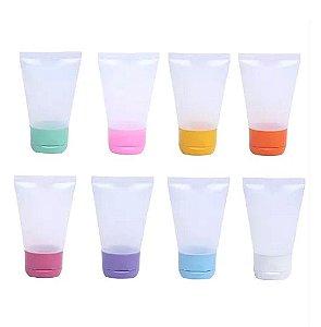 Bisnaga para Lembrancinha Plastica 30 ml (10 unid.)