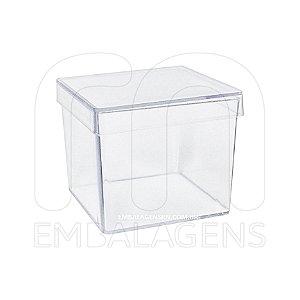 Caixinha de Acrilico para Lembrancinhas 5x5x5  (10 unid.)