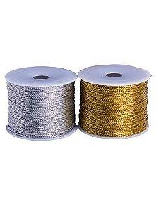 Cordão Metalizado para Personalizar Lembrancinhas (50 m)