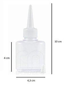 Frasco para Reparador de Pontas 30 ml com bico aplicador (10 unid.)