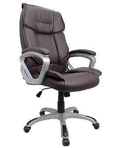 Cadeira de Escritório Presidente  Viena Marrom  5025