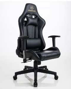 Cadeira gamer Ergonômica Preta Roxtor