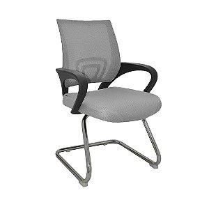 Cadeira para Escritório Santiago Fixa - Cinza