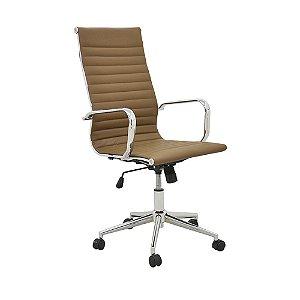Cadeira Para Escritório Sevilha Alta - Marrom