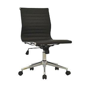 Cadeira Para Escritório Sevilha Baixa - Preta