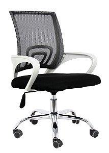 Cadeira De Escritório Secretária Branca - Anatômica