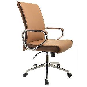 Cadeira Para Escritório Executiva - Marrom