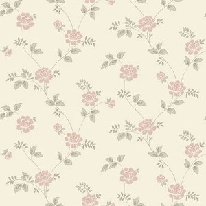 Papel de parede Flower Time (clássico) - Cód. FF202-03