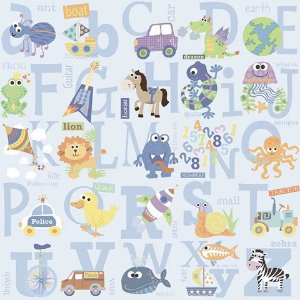 Papel de parede My Adventures (Infantil) - Cód. MA66132