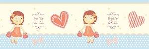 Papel de parede (Border) Girl (Infantil) - Cód. GB71104