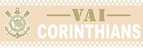 Papel de parede corinthians Border (Time) - Cód. SC 911-04
