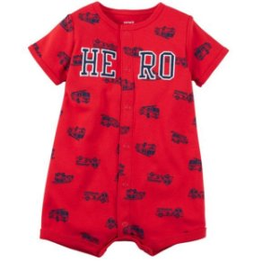 ROMPER BOY HERO CARTERS