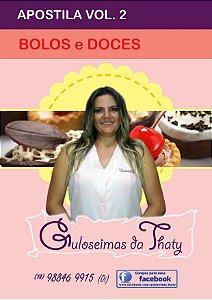 Apostila BOLOS e DOCES