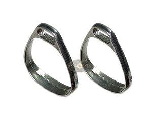 Estribo de Alumínio Polido SI0103