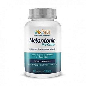 Melatonin Pré Cursor - 60 cápsulas - Fauna & Flora