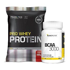 Kit Pro Whey Protein + BCAA