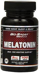 Melatonin 3 mg - Bio-Sport USA