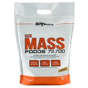 Size MASS Foods - BRN Foods