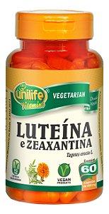 Luteína e Zeaxantina - 60 cápsulas - Unilife Vitamins