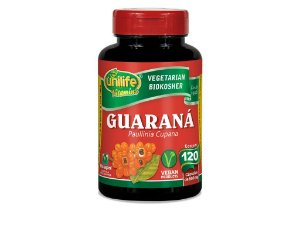 Guaraná - 120 cápsulas - Unilife Vitamins