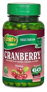 Cranberry - 60 cápsulas - Unilife Vitamins