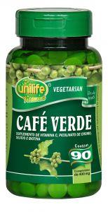 Café Verde - 90 comprimidos - Unilife Vitamins